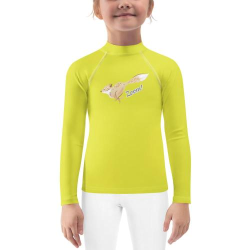 unisex rash guard- UPF- Fox Rain