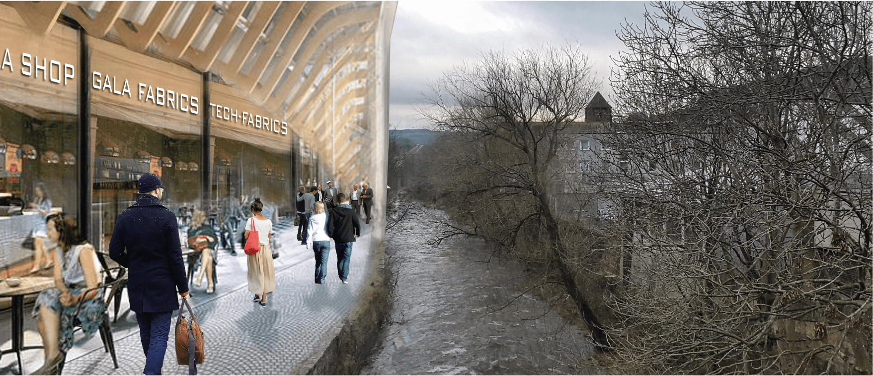 Reimagining Galashiels 2040: Exhibition