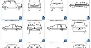 Araba Plan-Görünüşleri