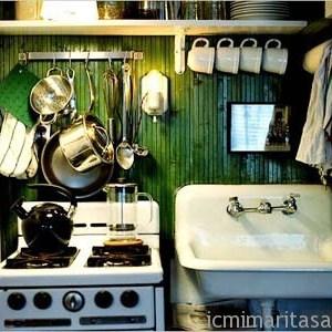 Küçük Mutfak Tasarımları (5)
