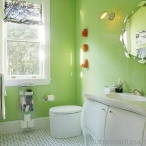 Parlak Ve Renkli Banyo Tasarım Fikirleri (13)