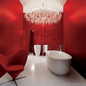Parlak Ve Renkli Banyo Tasarım Fikirleri (17)