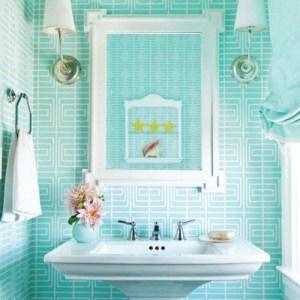 Parlak Ve Renkli Banyo Tasarım Fikirleri (28)