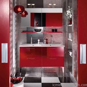 Parlak Ve Renkli Banyo Tasarım Fikirleri (35)