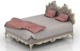 3ds max hazır model-yatak