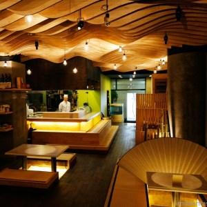 Güney Kore Restoran Tasarımları