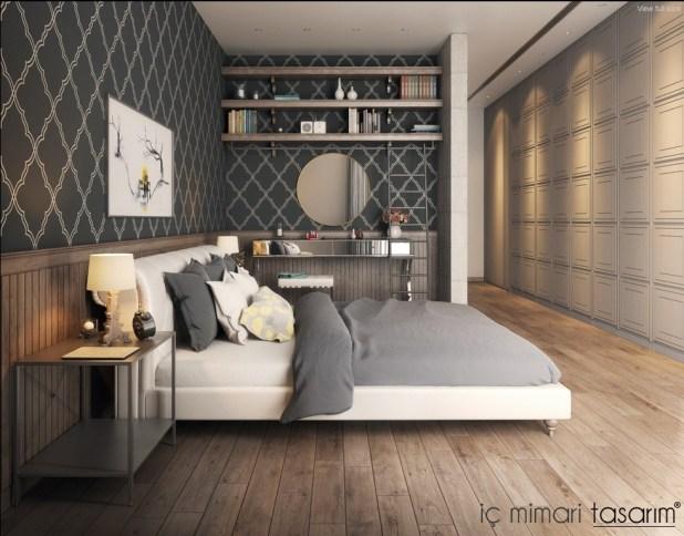 25 Muhteşem Yatak Odası Tasarımları (11)