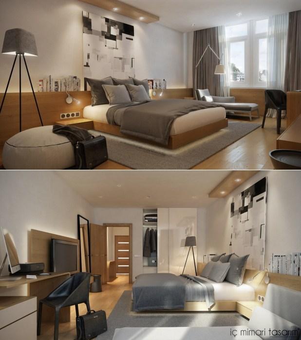 25 Muhteşem Yatak Odası Tasarımları (3)