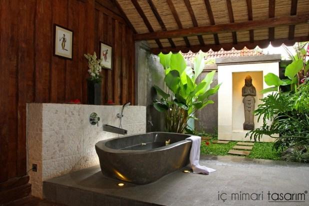 Banyoları Doğayla Buluşturan Tasarımlar (1)
