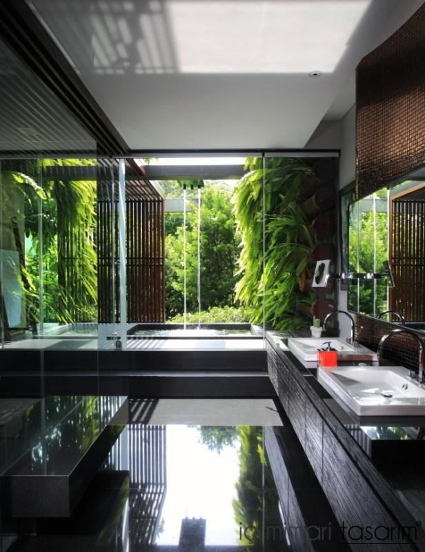 Banyoları Doğayla Buluşturan Tasarımlar (10)