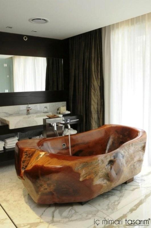 Banyoları Doğayla Buluşturan Tasarımlar (9)