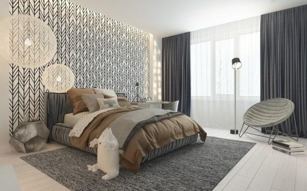 Sofistike Temalar ile Çocuk Yatak Odası (7)
