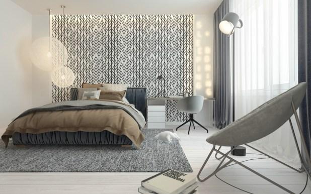 Sofistike Temalar ile Çocuk Yatak Odası (9)
