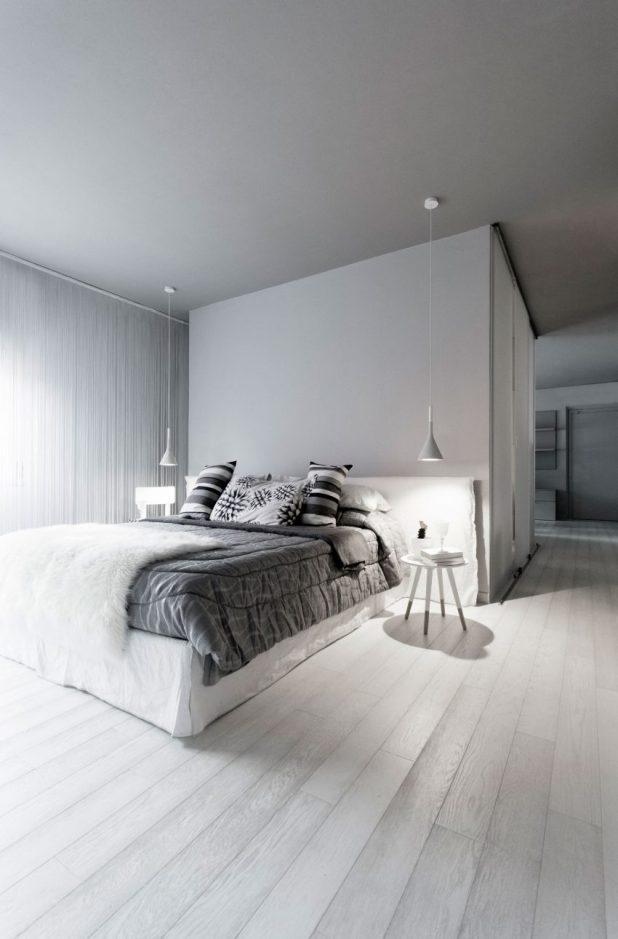 İtalyan Stili Beyaz Moder Ev Tasarımıları (20)