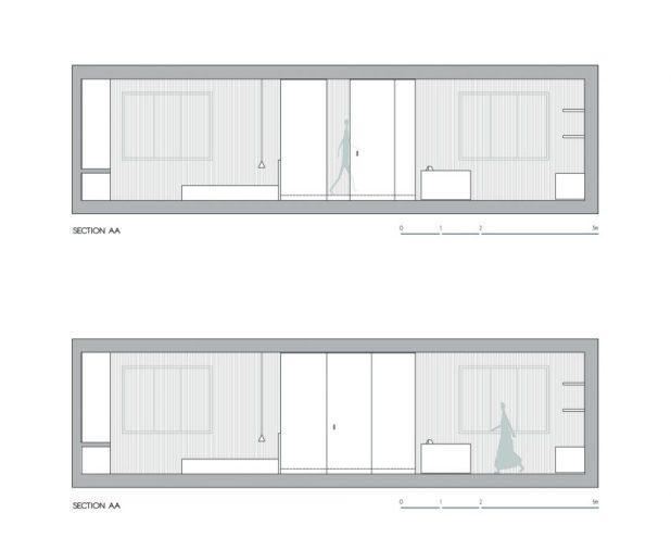 İtalyan Stili Beyaz Moder Ev Tasarımıları (8)