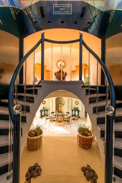 Merdivenleri Canlandıran Sıradışı Eklektik Tasarımlar (9)
