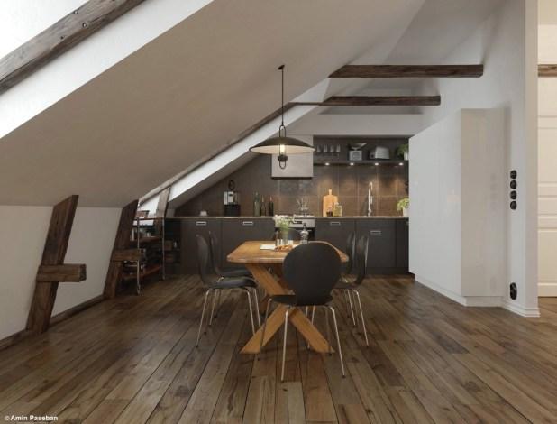 Zarif Tasarımlı 30 farklı Yemek Odası Tasarımları (2)