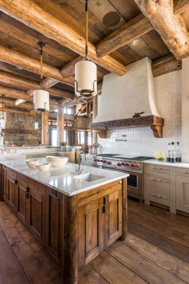 İlham Veren 15 Rustik Mutfak Tasarımları (10)