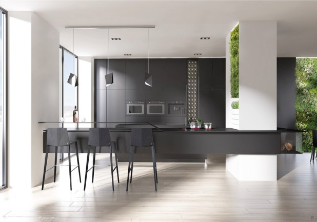 siyah-beyaz-mutfak