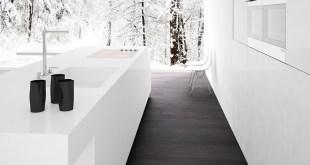 20 Şık Siyah&Beyaz Mutfak Tasarımları