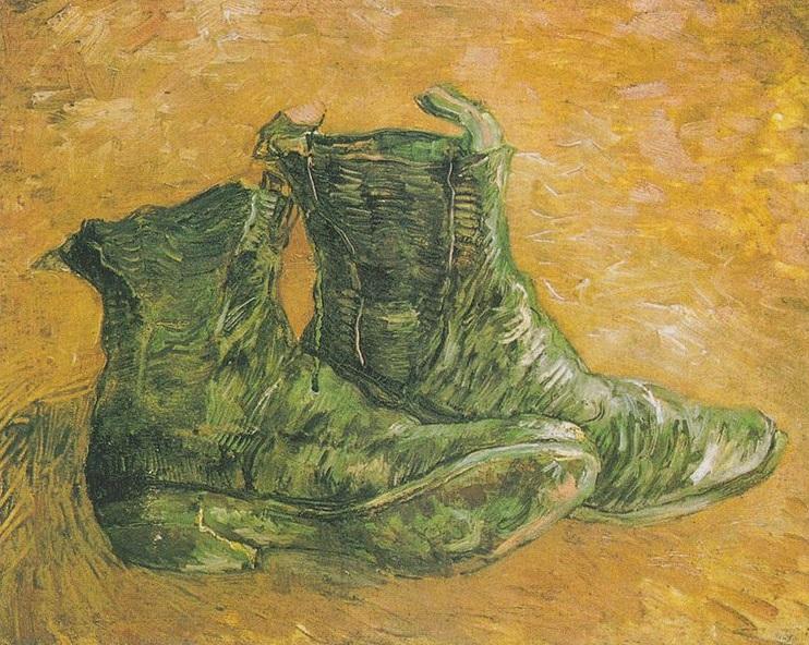 Vincent Van Gogh'un Ayakkabılar Serisi (3/4)