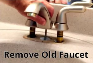 Remove Your Old Faucet