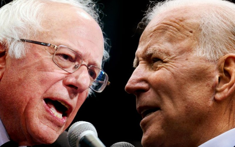 joe biden vs bernie sanders comparison