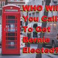call and do your own Bernie opinion surveys