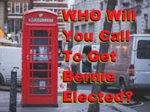 How many calls can you make to support Bernie Sanders for President?