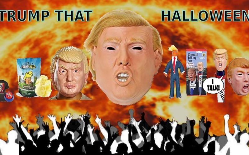 resist trump with a Halloween costume