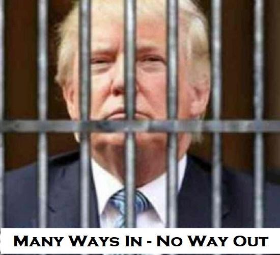 Many treason reasons to nail Trump