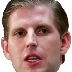 Eric Trump Halloween Party mask
