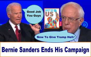 Good Job Bernie thank you