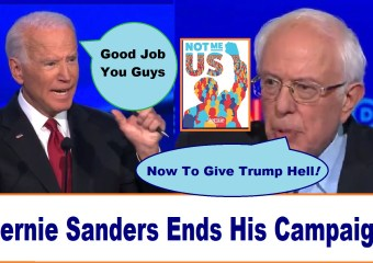 Good Job Bernie thank you