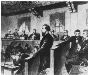 Procès de Wilhelm Liebknecht