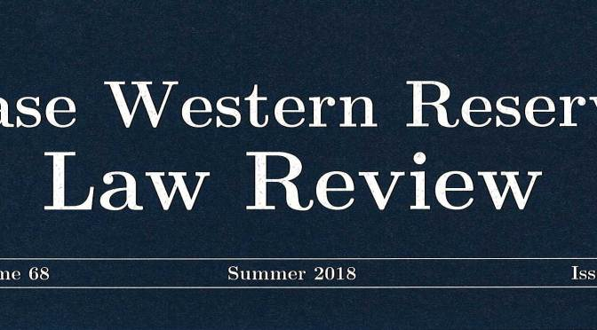 Law Review banner