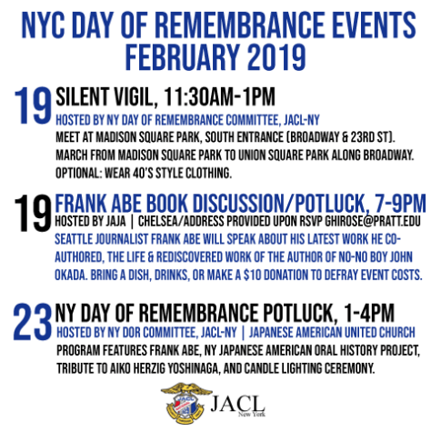 New York Day of Remembrance events