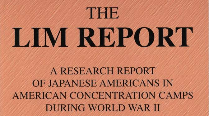 """The Lim Report"" now back online: the Mueller Report of its time"