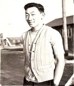 Hiroshi Kashiwagi in Tule Lake
