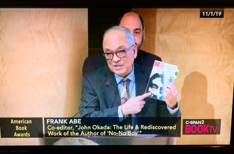 Frank Abe at American Book Awards