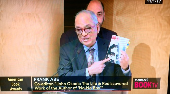 """NO-NO BOY"" and ""JOHN OKADA"" in NY Times and American Book Awards"