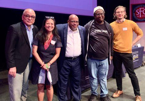 panelists and moderator