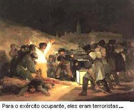 Goya, O massacre de 3 de Maio de 1808