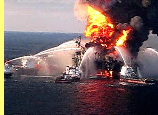 Plataforma 'Deepwater Horizon', da British Petroleum.