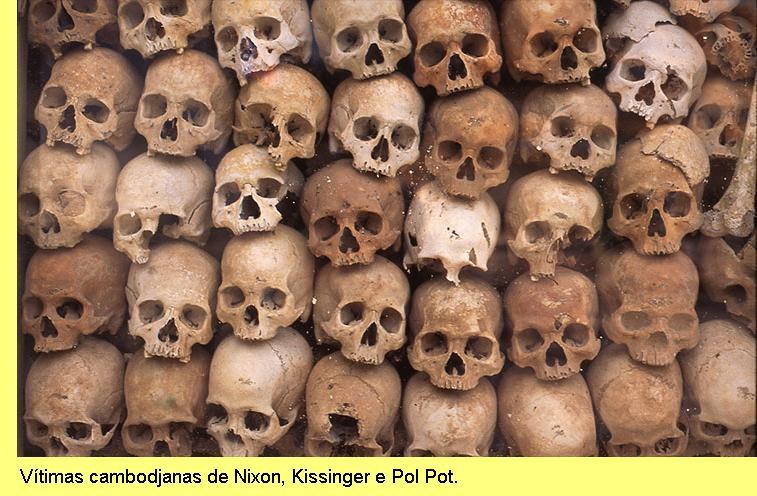 Vítimas cambodjanas.