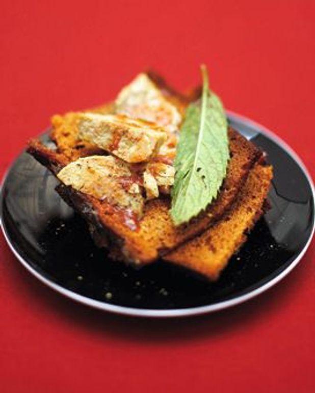 toasts de pain d epices au foie gras
