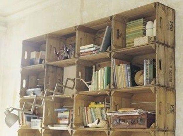 3 idees de bibliotheques a fabriquer