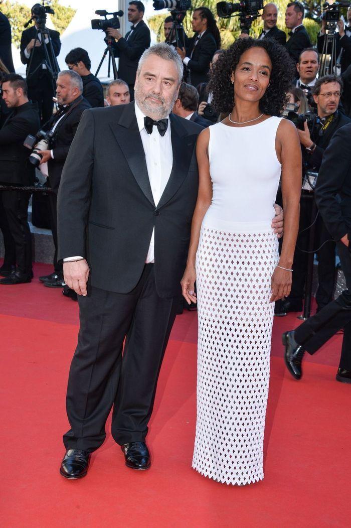 Luc Besson Et Son Pouse Cannes 2016 Toute La