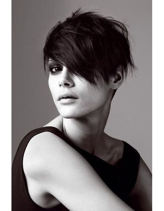 coupe courte glamour hiver 2015 les