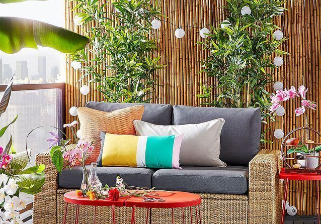 Ces 10 Accessoires Ikea Vont Transformer Votre Petite Terrasse Elle Decoration